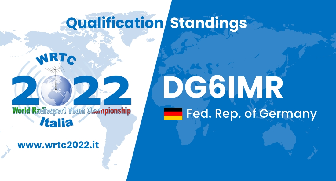 DG6IMR - Fed. Rep. of Germany